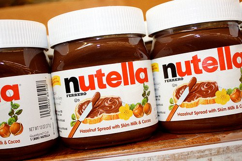 Buy Pasta chocolate Nutella in 350g and 750g jars