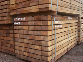 Buy Sawn Tropical hard wood of all species in stock at whole prices