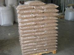 Wood pellets -Quality Din plus and standard