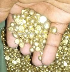 Raw Alluvial Gold Nuggets and Diamond