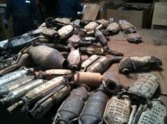 Catalytic converter scraps
