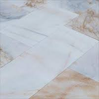 Polished marble flooring tile