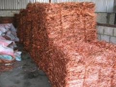 Copper wire scrap(milberry) for sale