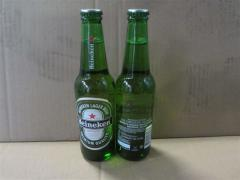 Heinken Beer Bottle 25cl & 33cl