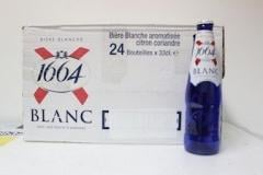 Beer Kronenbourg 1664 Blanc, 330ml Bottles
