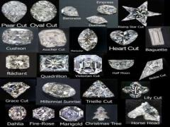 Certified loose cut diamonds