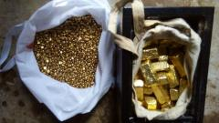 We have available gold bars/dust and nugget
