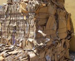 Quality used cardboard waste paper and selected