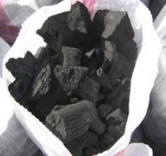 El carbón de árbol