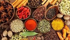 Spices, Garlic, Ginger, Onion, Black Pepper,Cumin