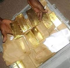Gold bars , diamond , copper ,