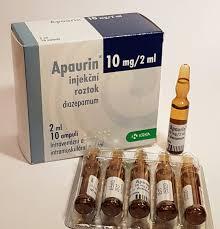 Bromazepam 6 mg and Apaurine 10 mg for sale