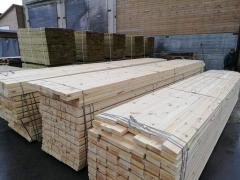 Kd Spruce  logs  and Sawn