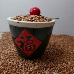 Roasted buckwheat and peeled egusi for sale
